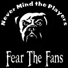 New Custom Screen Printed Tshirt Never Mind Players Fear Fans Cleveland Browns....SO TRUE