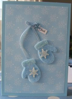 Handmade Christmas card josh by Osborne Signs & Wall Art, via Flickr