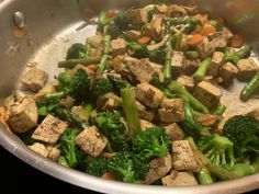 Squirrel Head Manor: Buddah's Feast - a copycat recipe from P.F. Chang Pf Chang Restaurant, Five Spice Powder, Pf Changs, Good Food, Yummy Food, Extra Firm Tofu, Tasty Meals, Fresh Asparagus, Copycat Recipes