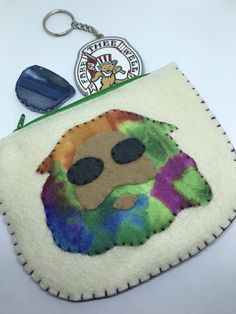 Excited to share this item from my shop: Grateful Dead Jerry Garcia Pouch Felt Pouch, Grateful Dead, Coin Purse, Etsy Shop, Purses, Wallet, Trending Outfits, Unique Jewelry, Handmade Gifts