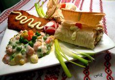 A konyha csókja Tacos, Mexican, Chicken, Meat, Ethnic Recipes, Food, Essen, Meals, Yemek