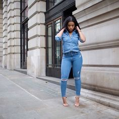 My Denim on Denim outfit from the other day is now up on my blog! Visit it for more details, or shop the look via @liketoknow.it www.liketk.it/1vPgP #liketkit