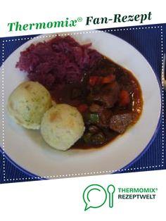 Malzbiergulasch von iris_not. Ein Thermomix ® Rezept aus der Kategorie Hauptgerichte mit Fleisch auf www.rezeptwelt.de, der Thermomix ® Community.