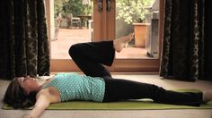 Spinal Twist for adrenal support.  Just One Pose with Dr. Sara Gottfried