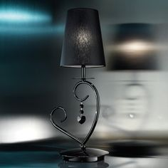 Heart Table Lamp by Evi Style