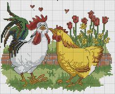 Gallery.ru / куриная любовь - делюсь схемами - konfetka28