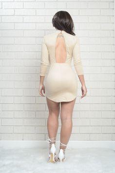 Milkshake Dress - Taupe