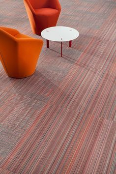 Celebrate the coming warmer weather with Fahrenheit, which explores the dynamic relationship between temperature, pattern, and color. #floorcovering #carpet #interiordesign #flooring #floorproducts #inspireddesign