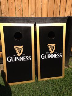 NO BAGS WITH THIS LISTING. CONTACT ME IF YOU WANT BAGS OR SEE OTHER LISTING. Set of two ACA Regulation size 24 INCES BY 48 INCHES, NEW GUINNESS