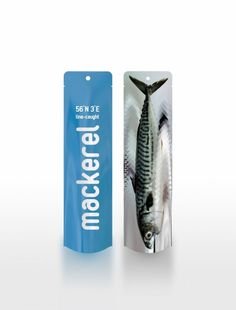 Holy Mackerel! ... How to get People to buy Ugly Fish:  The packages developed by Ferguson encourage customers to try something different than the usual tuna, salmon, cod or bass, with mackarel and others placed in eye-catching, minimalist packages. They are constructed from double-layered polyethylene, they're airtight and can be filled with ice. The packaging also includes information such as where the fish was caught.