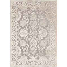 Woven Britta Traditional Grey Oriental Rug (7'6 x 10'6) - 15125662 - Overstock.com Shopping - Great Deals on 7x9 - 10x14 Rugs