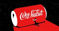 An Animated Account of One Man's Coca-Cola Addiction as Told In the Brand's Signature Colors