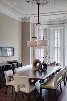 Contemporary Dining Room. Modern Dining Room Lighting, Modern Dining  Benches, Modern Dining Room