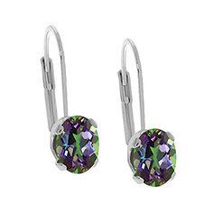 3.20 Ct Oval Green Mystic Topaz 925 Sterling Silver Leverback Earrings Gem Stone King http://www.amazon.com/dp/B00EW0V8C8/ref=cm_sw_r_pi_dp_Iqdpvb06Z0M0S