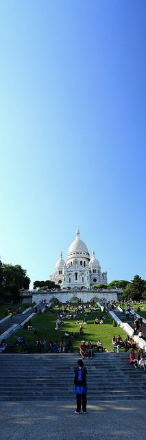 Sacré-coeur by ║Dd║, via Flickr
