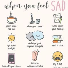 Feeling Sad, How Are You Feeling, Self Care Bullet Journal, Vie Motivation, School Motivation, Positive Self Affirmations, Mental And Emotional Health, Self Care Activities, Self Improvement Tips