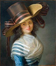 Jean-Laurent Mosnier    Portrait of a Lady    1800