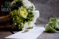 Bridal Bouquet of creams and greens