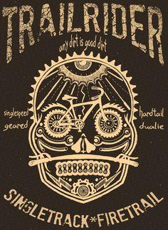 Mountain Bike Tee shirt cycologygear.com