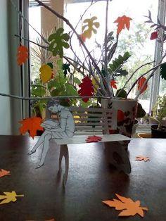 Vivat Library!: Осень в библиотеке... Book Installation, Love Book, Outdoor Furniture, Outdoor Decor, Books, Home Decor, Libros, Decoration Home, Room Decor