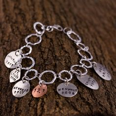 I would love this bracelet with all the half marathons I've run. :)