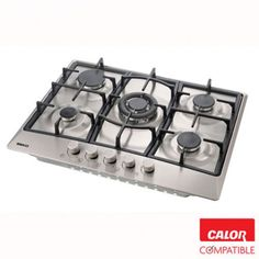 Beko HIG75221SX Gas Hob Built In Stainless Steel | Buy now from Calor Gas