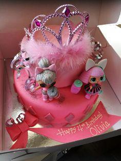 Lol surprise doll cake!