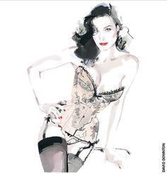 "Ilustracordoba: David Downton ""El ilustrador de la moda"""