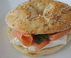 Bagel, Hearty Breakfasts, Kochen, Woman
