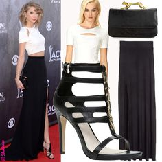 celebrity style 2014 | Celebrity Style Steal - Taylor Swift's 2014 Country Music Awards Crop ...
