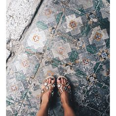 This floor  #fromwhereistand #cuba #lahabana #collageontheroad