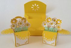 MINI Card In A Box Duo 3D SVG by MyCasualWhimsy on Etsy