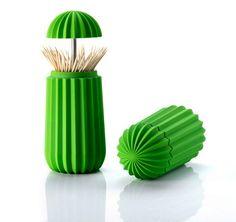 Un cactus pour ranger vos pics à apéritif - Blog Deco Design