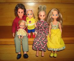 Vintage Mattel Sunshine Fun Family  (not sale)