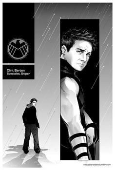 JEREMY RENNER AS CLINT BARTON BETTER KNOW AS HAWKEYE