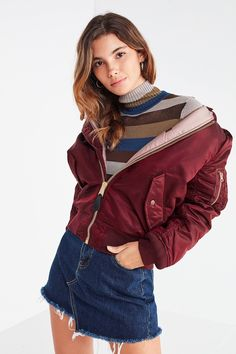 Alpha Industries MA-1 Natus Bomber Jacket   Urban Outfitters