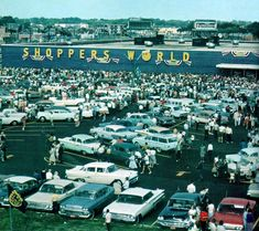 Shopper's World in Highland, Indiana from the 60's