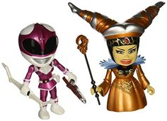 SDCC 2015 Mighty Morphin Power Rangers Metallic Rita Vs Pink -- Continue to the product at the image link.