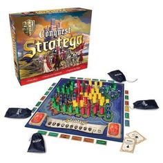 Stratego: Conquest Board Game PlayMonster, LLC 7474, Multicolor