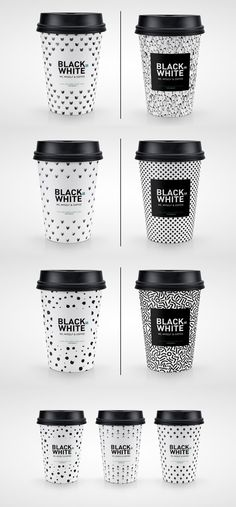 Modern Packaging Design Examples for Inspiration - Black or White Coffee Packaging Concept Coffee Tumblr, Coffee Meme, Coffee Signs, Coffee Barista, Starbucks Coffee, Coffee Quotes, Coffee Creamer, Coffee Cups, Coffee Scrub