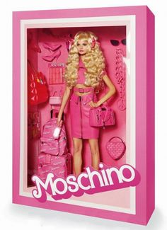 Moschino Barbie doll // Photo by Giampaolo Sgura for Vogue Paris