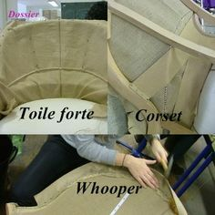 Fauteuil Crapaud Furniture Upholstery, Upholstered Chairs, Take A Seat, Furniture Restoration, Soft Furnishings, Hgtv, Furniture Makeover, Slipcovers, Diy