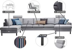 1000 images about sofa sessel on pinterest sofas for Sofa nordischer stil