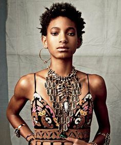 From being the youngest of the talent powerhouse Smith family to ahair-whipping it-girl, Willow Smith is carving out her own lane. The 14-year-old recently posed in Pucci and Saint Laurent for a s…