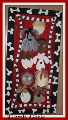 Glyph Girls: Feature Teacher- Dog-gone cute classroom!