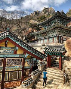 21 things to do in Seoul - Mangwolsa Temple, Mangwolsa, Bukhansan Nationalpark, Bukhansan, Seoul -