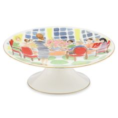 Image detail for -Peter's of Kensington | Lenox - Kate Spade Footed Cake Plate Small ...