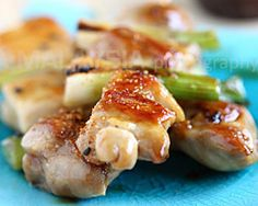 Yakitori (Japanese Grilled Skewered Chicken)   Easy Asian Recipes at RasaMalaysia.com - Page 2