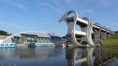 The Falkirk Wheel Birleşik Krallık.