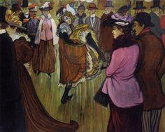 Moulin Rouge, 1893 Louis Anquetin (França, 1861- 1932) óleo sobre tela